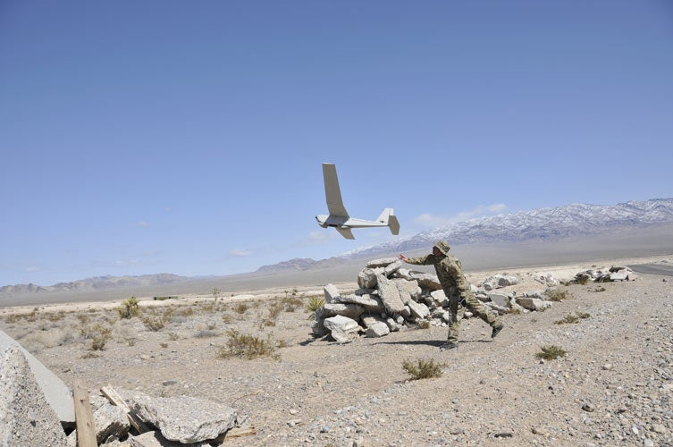 digital Puma All Environment (AE) Small Unmanned Aircraft Systems (SUAS)