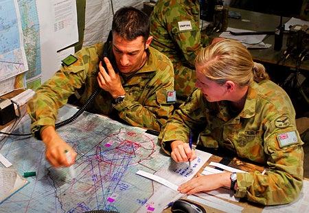 RAAF controllers