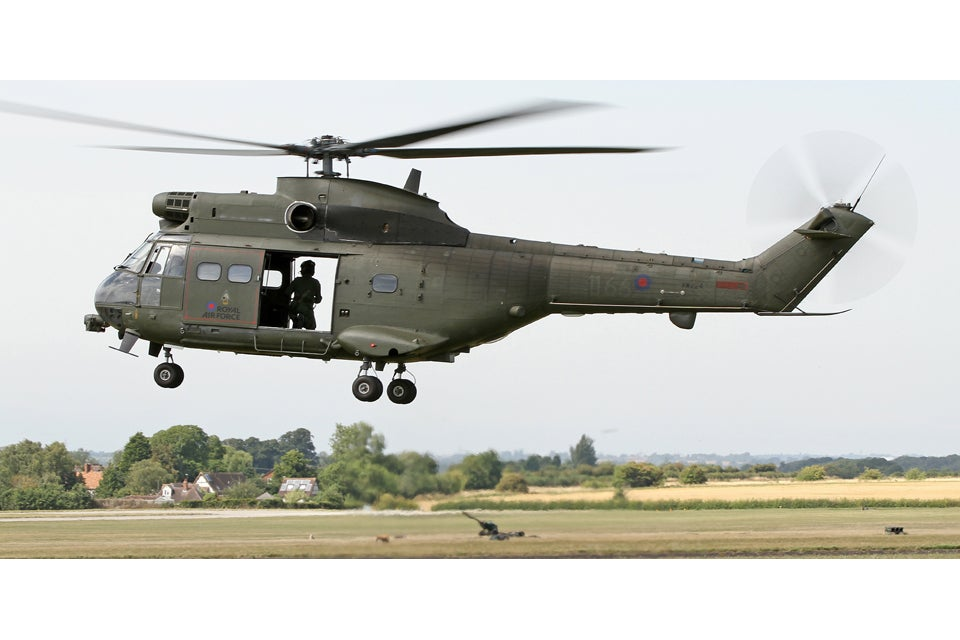 Puma helicopter