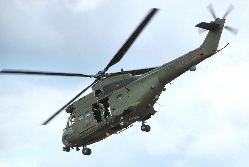 Puma HC1 helicopter