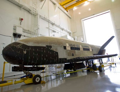 Boeing-built X-37B