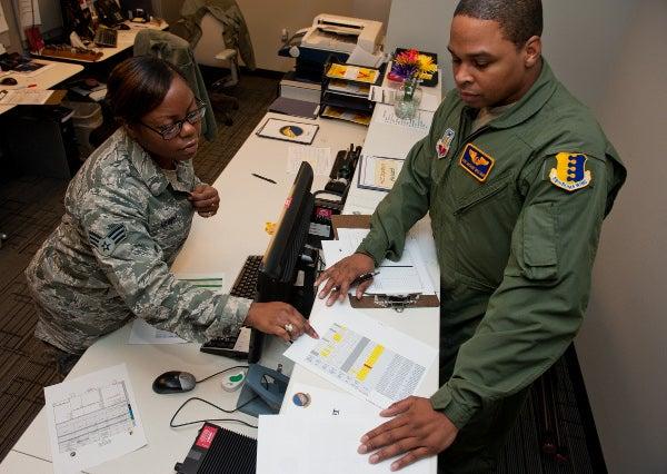 USAF officials