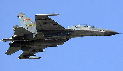 Chinese multirole fighter aircraft