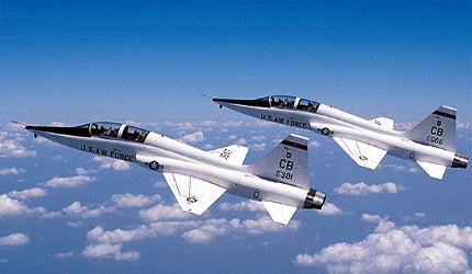 Northrop Grumman T-38 twin-jet trainer aircraft