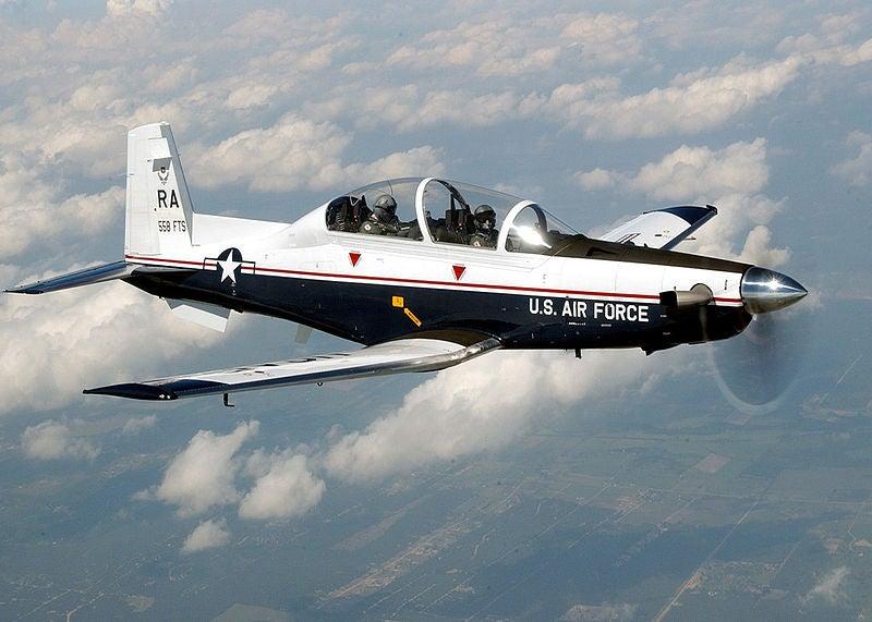 T-6 aircraft