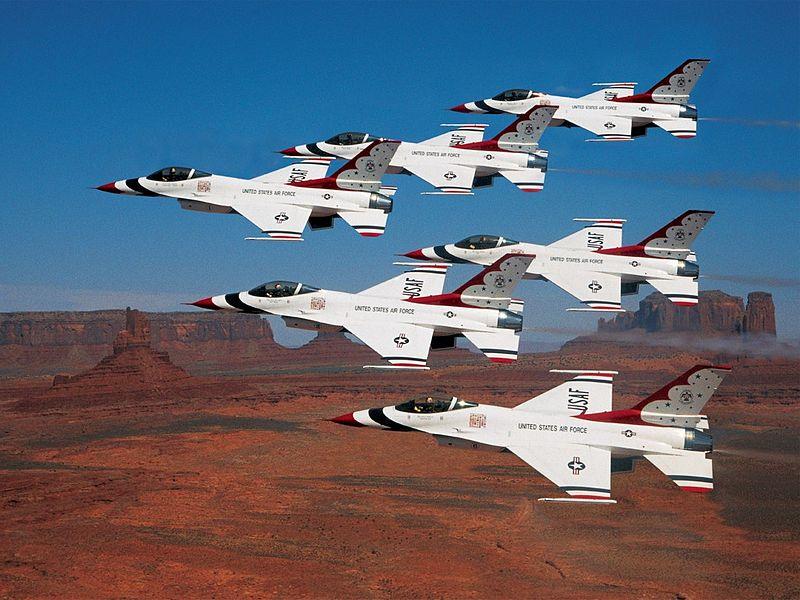 Thunderbird aircraft