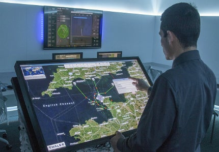 Thales unveiled its Advanced Air Operations Operations Center