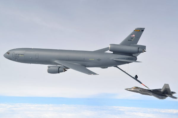 The world's biggest aerial refuelling aircraft