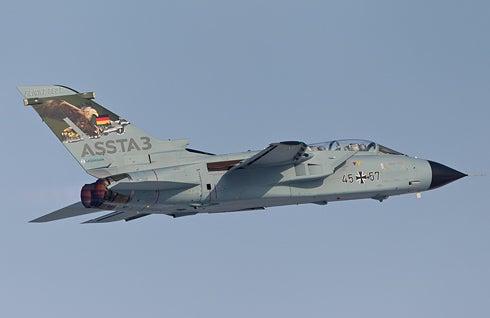 Tornado production aircraft