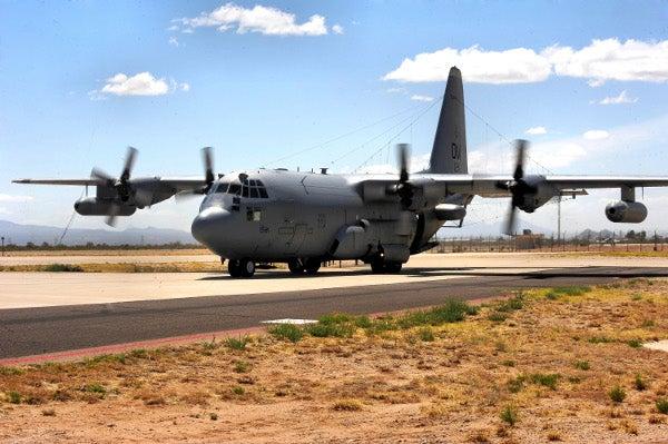 EC-130H aircraft