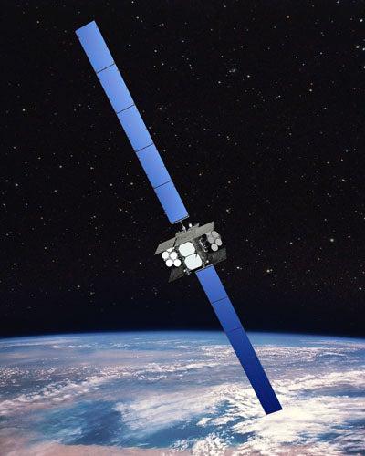 WGS Block II satellite