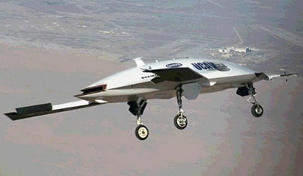 The Joint Unmanned Combat Air System (J-UCAS) programme is a joint DARPA, US Air Force and US Navy initiative