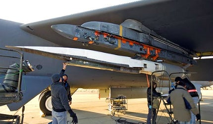 The aircraft was developed to meet the requirements of the US Air Force (USAF) as part of the WaveRider programme