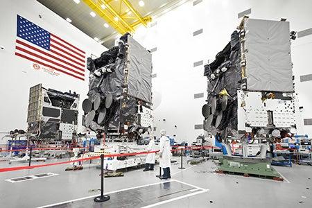WGS satellites