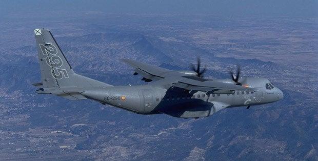 C295 military transport aircraft