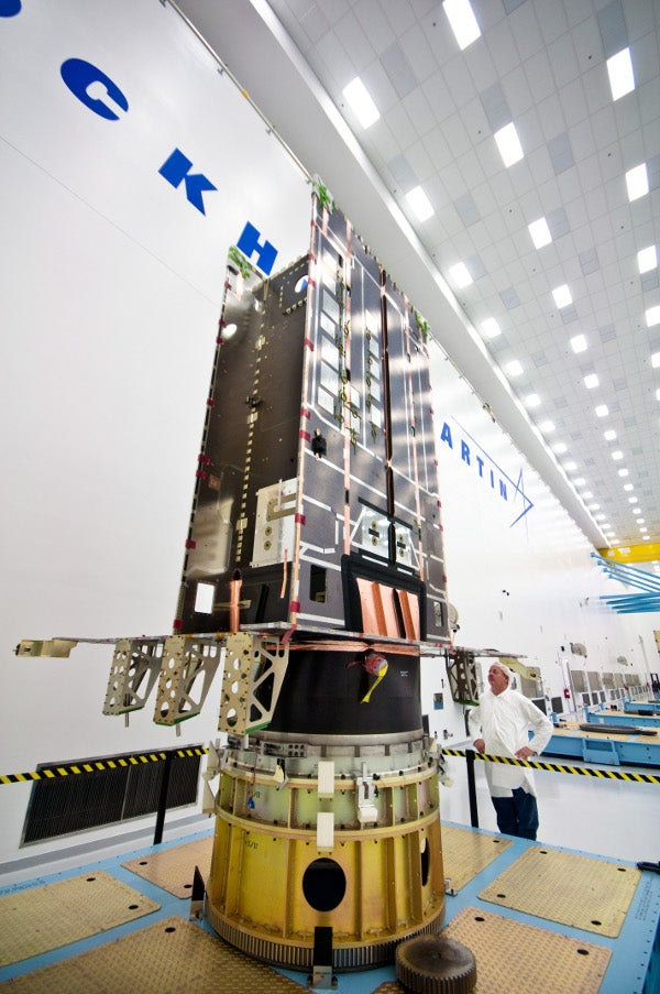 Lockheed Martin's Global Positioning System III (GPS III) satellites pathfinder