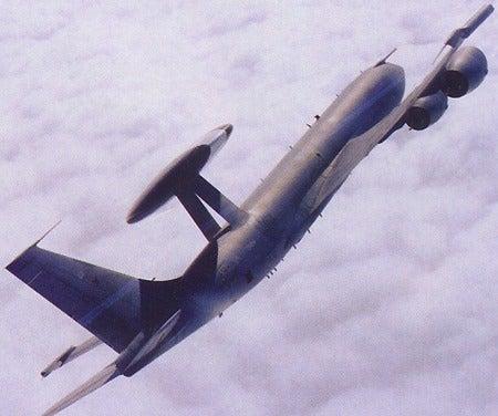 E-3D Sentry AWACS aircraft