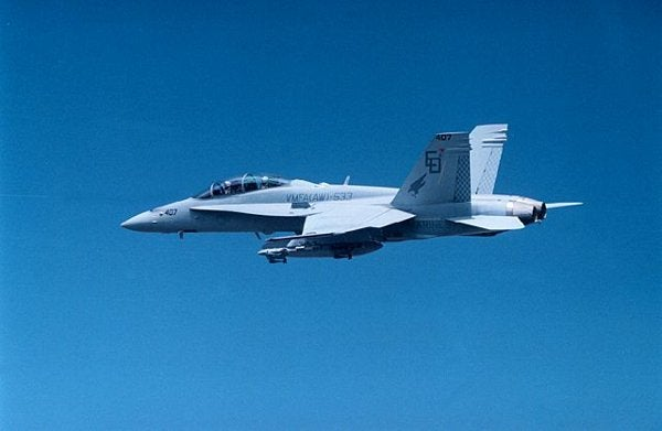The Boeing F/A-18 Hornet