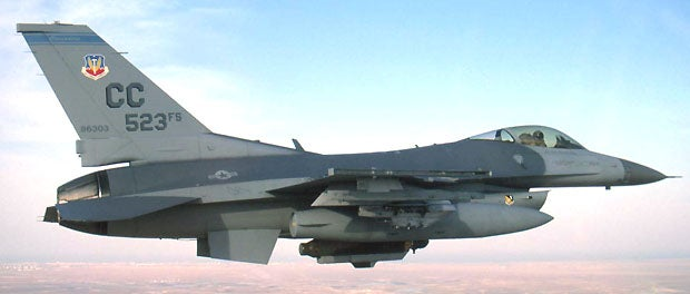 F-16C aircraft