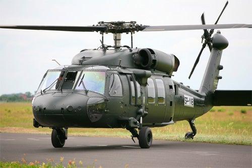 RBAF's S-70i baseline Black Hawk helicopter