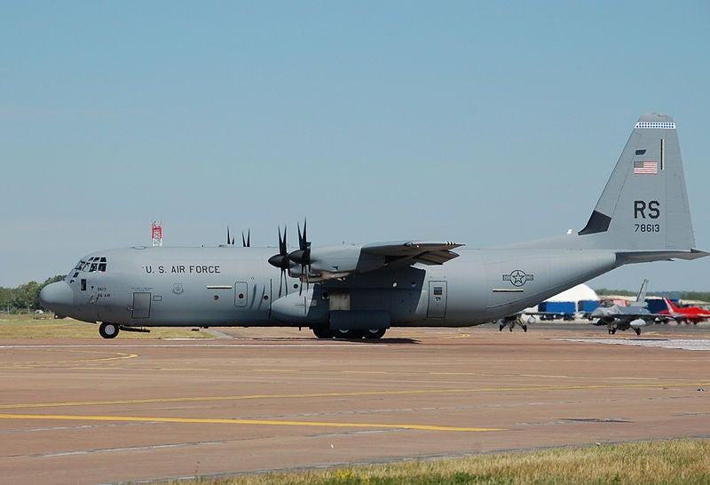 US Air Force's C-130J-30 Hercules aircraft