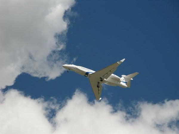 G550 CAEW aircraft