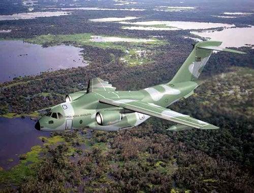 KC-390 aircraft