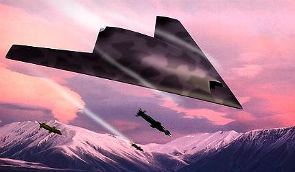nEUROn will have the capability to carry two laser-guided 250kg (550lb) bombs in two weapon bays