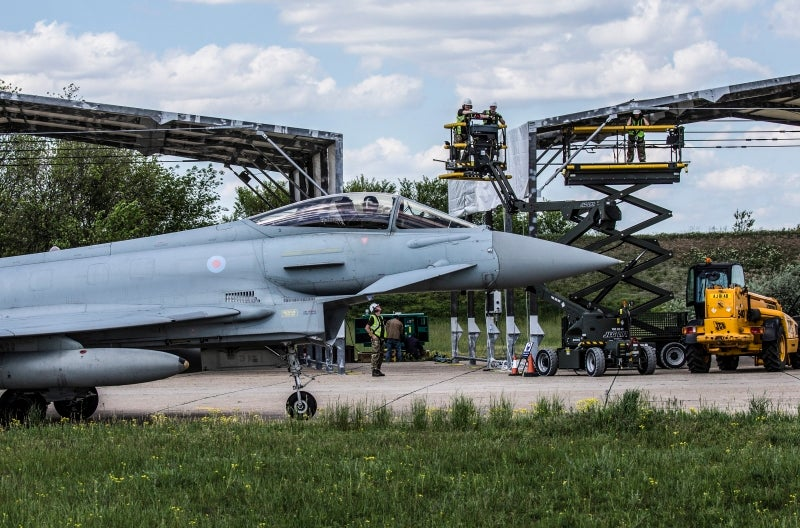 RAF specialists in Romania support MoD's latest aircraft deployment