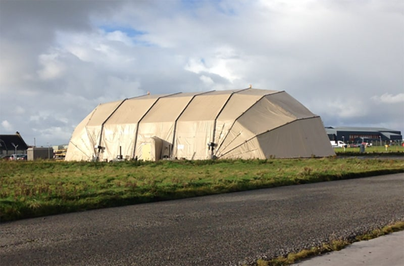 Rubb deployable military shelters