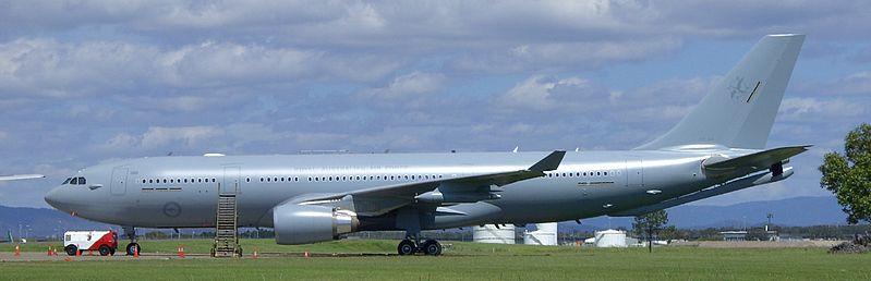 A330 multi-role tanker transport (MRTT) aircraft