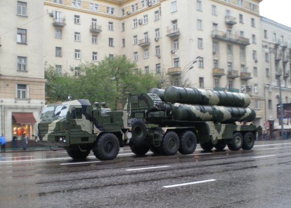S-400 Triumph air defence missile systems