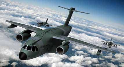 Brazilian Embraer KC-390