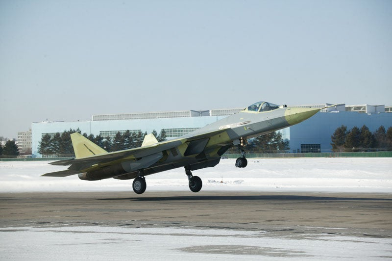Sukhoi_T-50-2_Russian Air Force