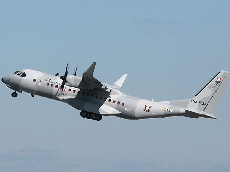 C295W transport and surveillance aircraft