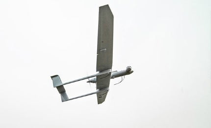 DVF 2000 is a mini fixed-wing unmanned aerial vehicle (UAV).
