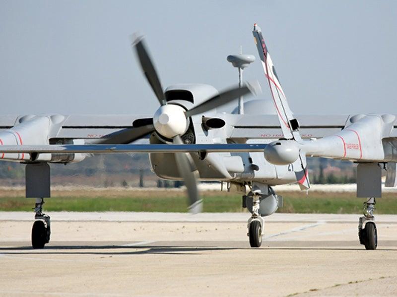 Heron TP MALE UAV