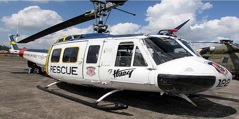 Huey II helicopter