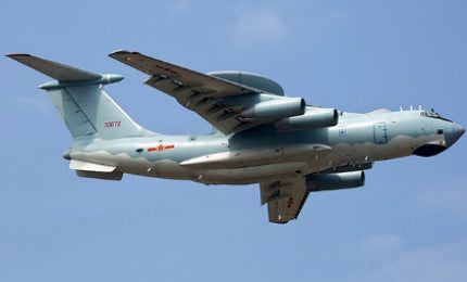 The KJ-2000 AEW&C was demonstrated at the China International Aviation & Aerospace Exhibition 2014.