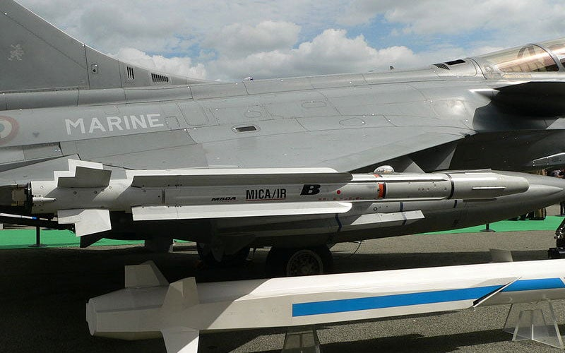 MICA air-to-air missile system