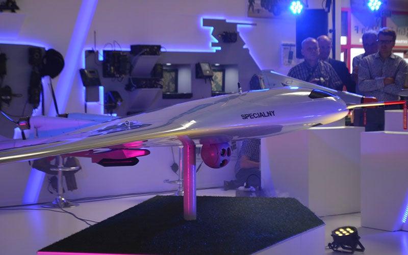Manta VTOL Unmanned Aerial Vehicle (UAV)