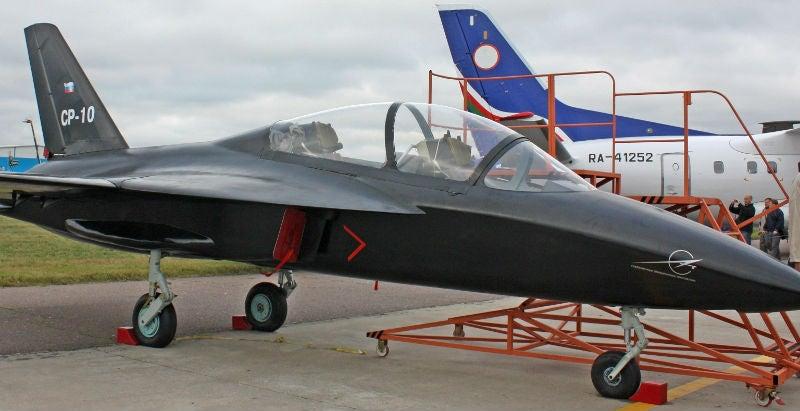 SR-10 aircraft
