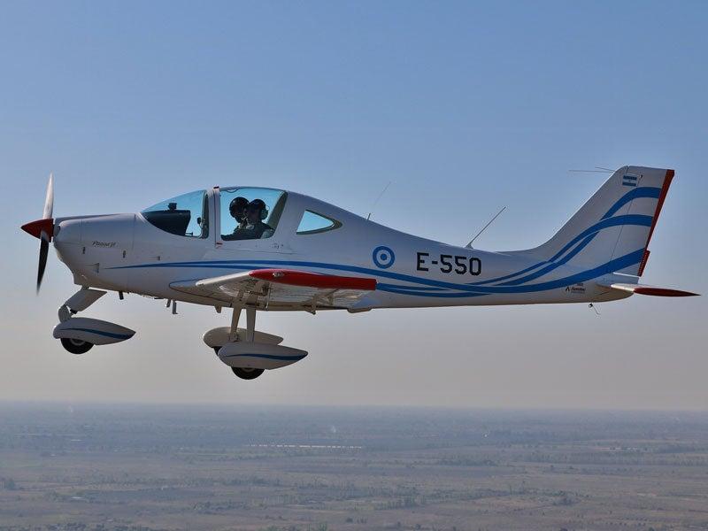 Tecnam P2002JF trainer