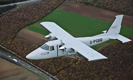 Vulcanair P68 multi-mission aircraft (MMA) is a cost-efficient surveillance aircraft.