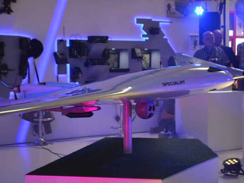 Warmate Micro Combat Unmanned Air System (UCAS)