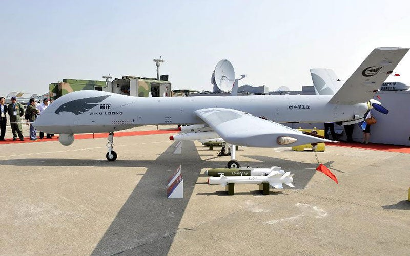 Wing Loong Unmanned Aerial Vehicle (UAV)