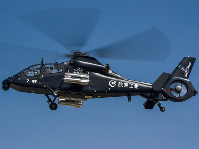 Z-19E light attack helicopter