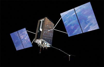 Global Positioning System III satellite