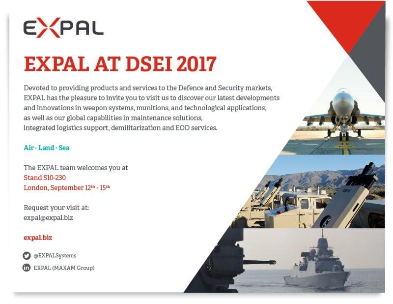 EXPAL at DSEI 2017