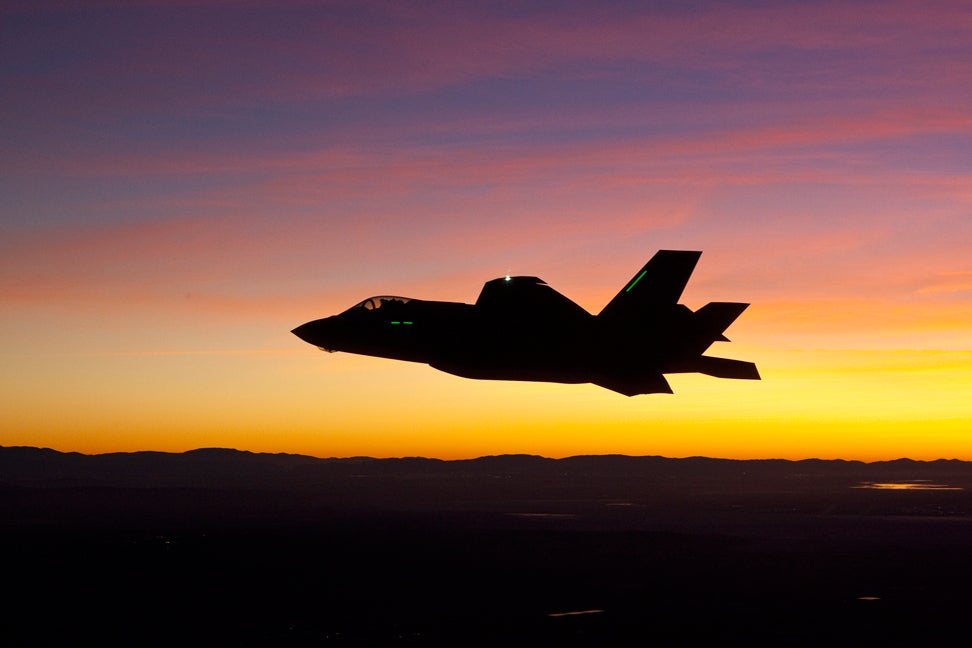 US Air Force's F-35A